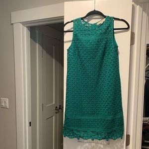 Emerald Lace Loft Dress. Excellent condition.